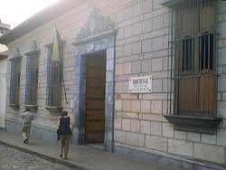 La Casa Natal Del Libertador Simon Bolivar Venezuela A
